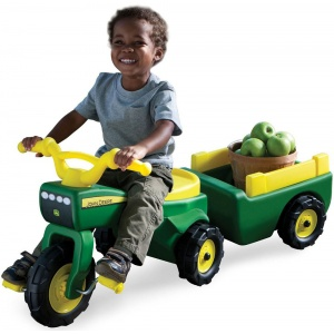 46088_john-deere-pedal-tractor-_-pull-wagon-kids-children-toy-ride-on-tricycle_01