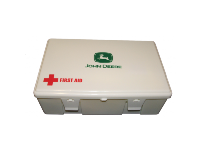 john deere first aid kit with carry box and torch